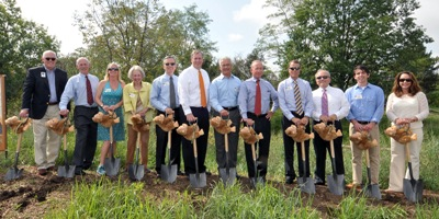 International Orangutan Center groundbreaking